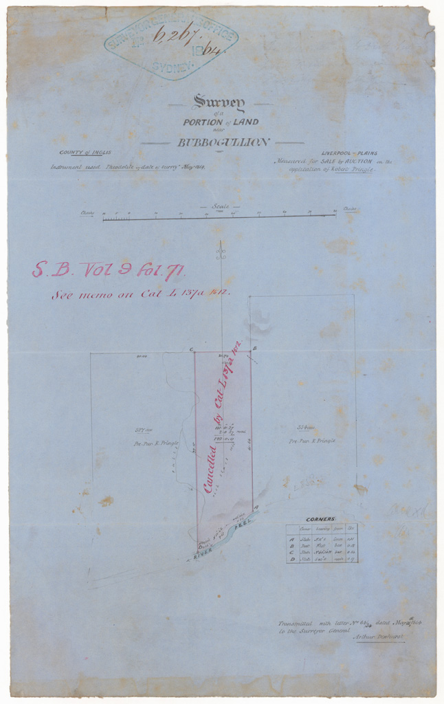 Sketch books [Surveyor General] | NSW State Archives