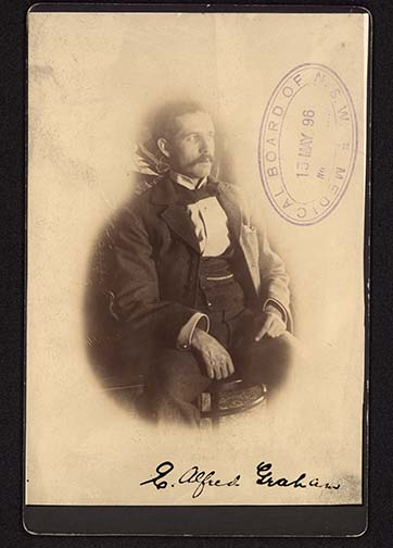 Photograph of Edward Alfred Graham doctor