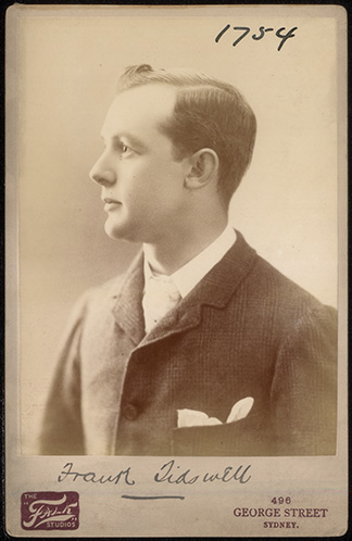 Photograph of Frank Tidswell doctor