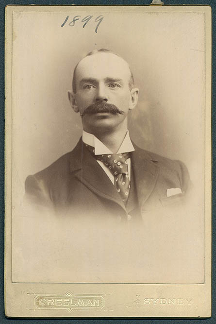 Photograph of Edward Henry Wheeler