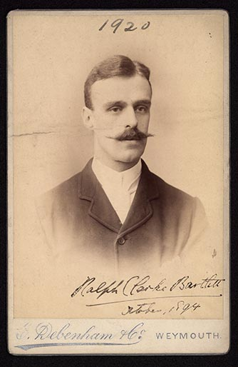 Photograph of Ralph Clarke Bartlett doctor