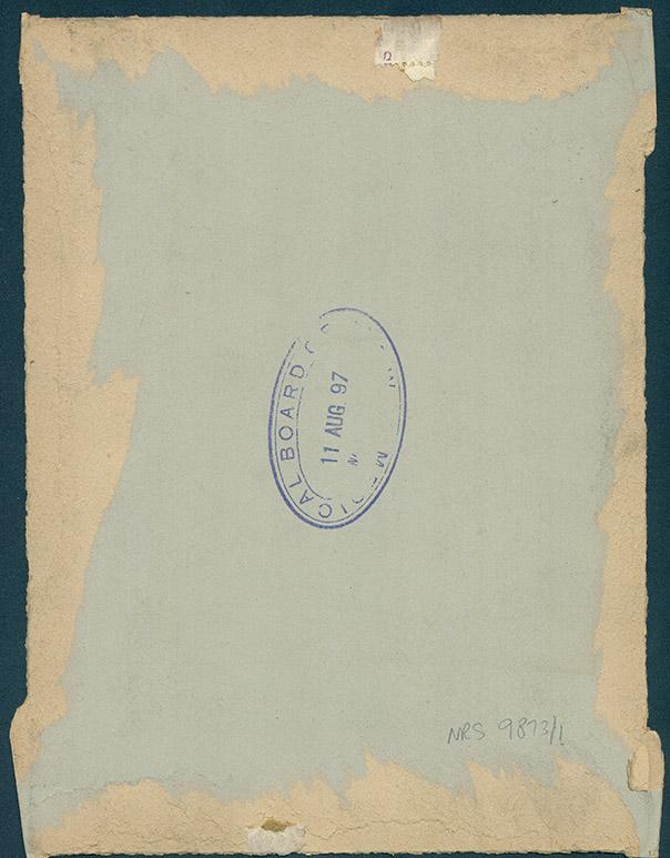Photograph of Edward Culbertson Hope [reverse]