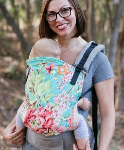 Tula baby carrier bliss bouquet floral pattern