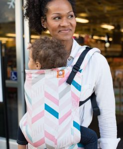 Tula Pixie wrap conversion baby carrier