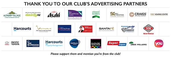 Tauranga Golf Club Sponsors