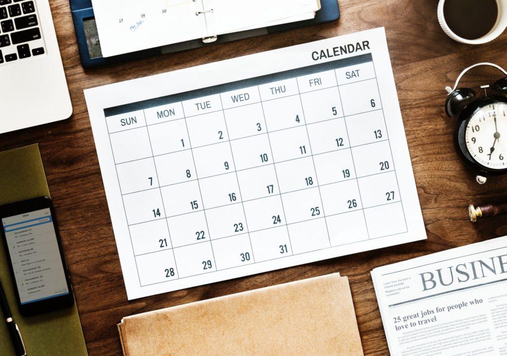 North Island: 2019-2021 Calendars (UPDATE 4 July 2019