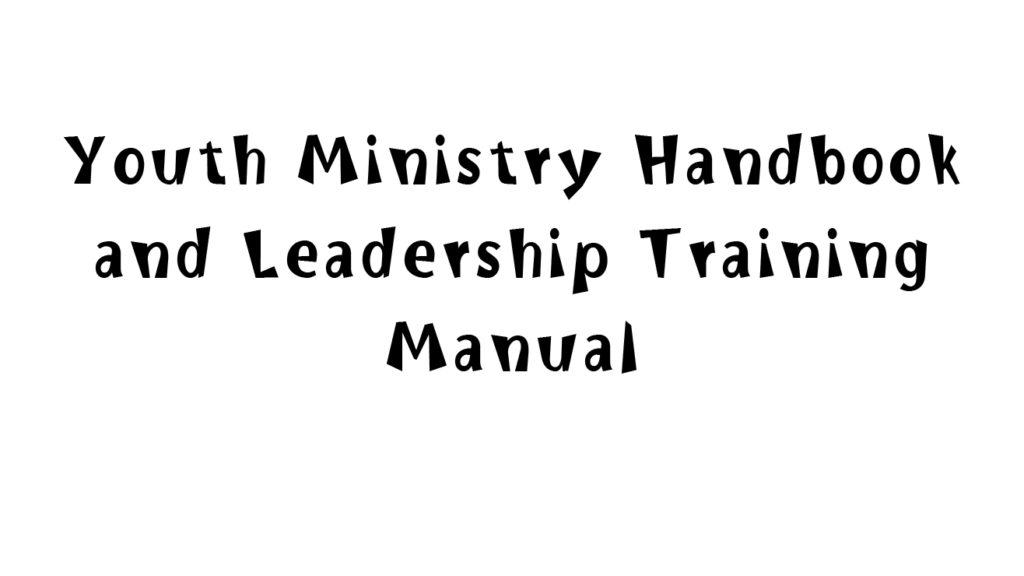 YOUTH_Youth_Ministry_Handbook
