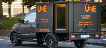 Uzmobility electric van rental springwise1