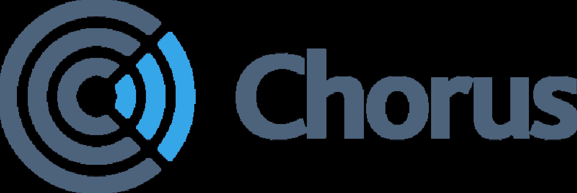 Chorus logo rgb w