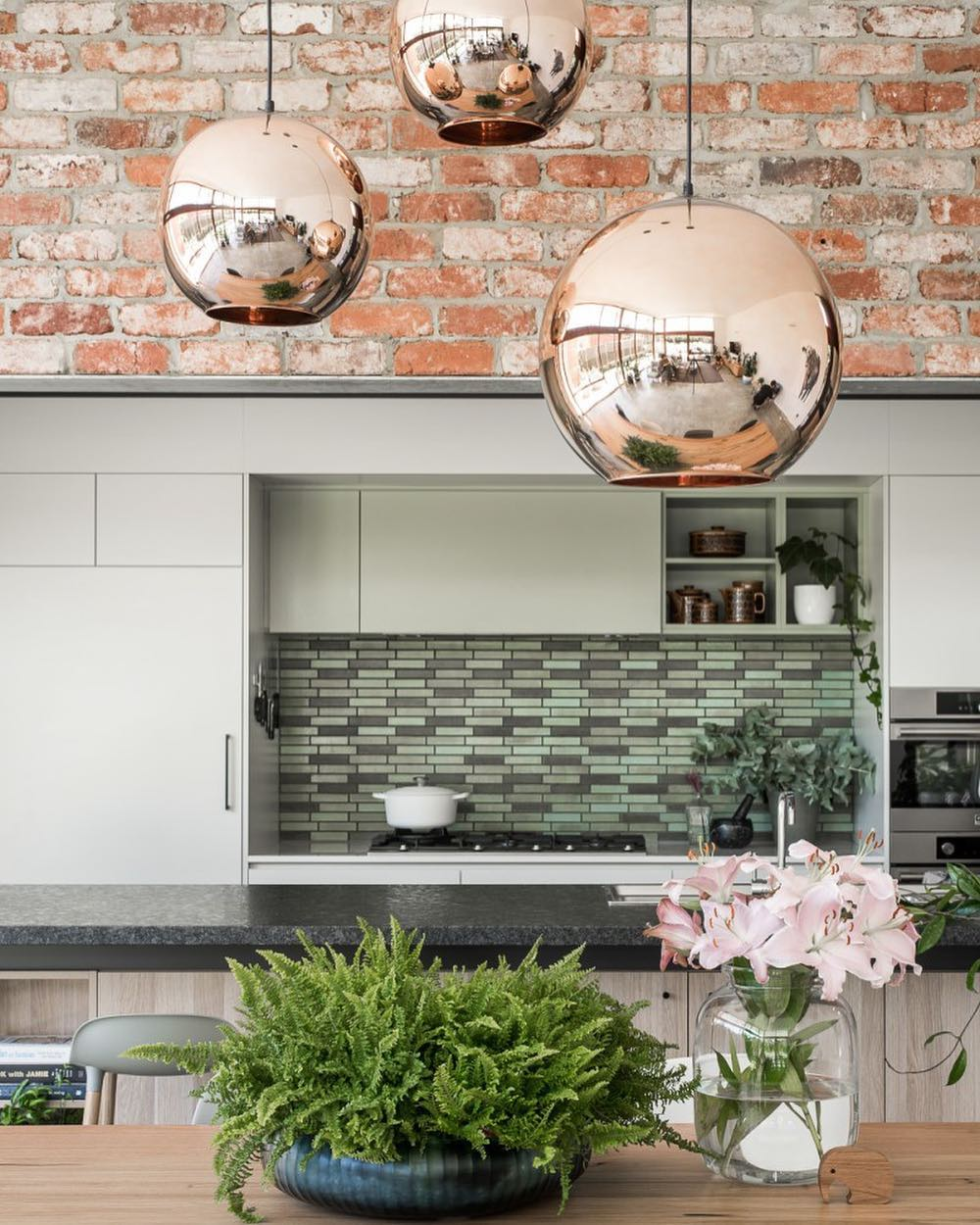 How to modernise your home with vintage brick detail