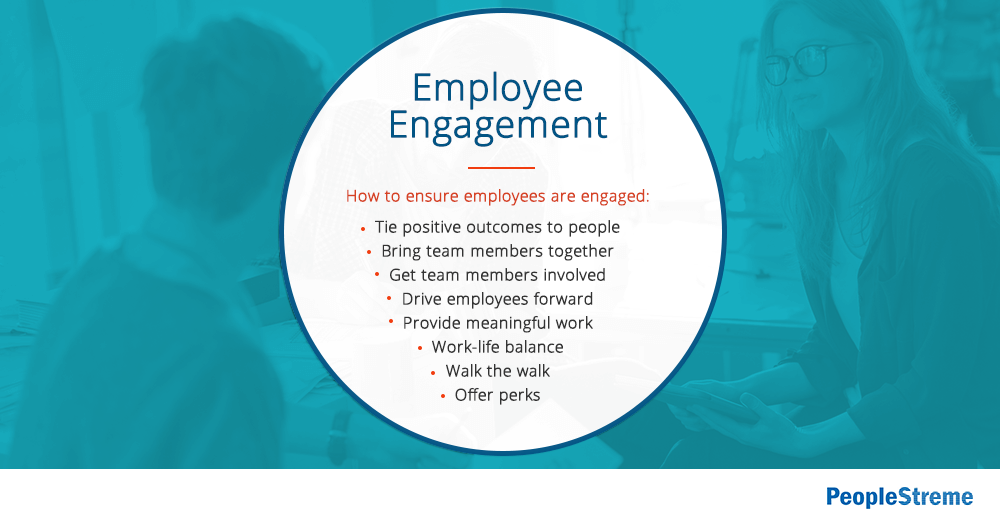 How to engage employees - list of ways