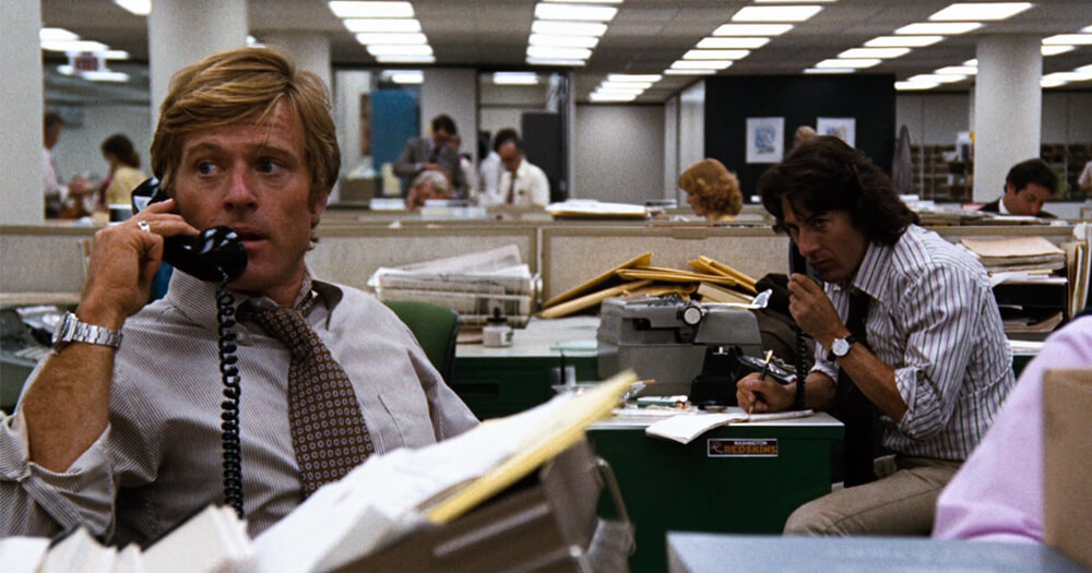 All the president's men movie _ journalist inspiration