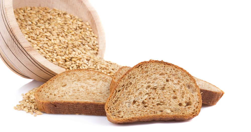 Avoid bloating - Wholegrains, multigrains, bread, fibre