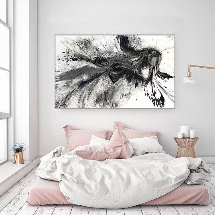 Bedroom decoration and design bedhead art