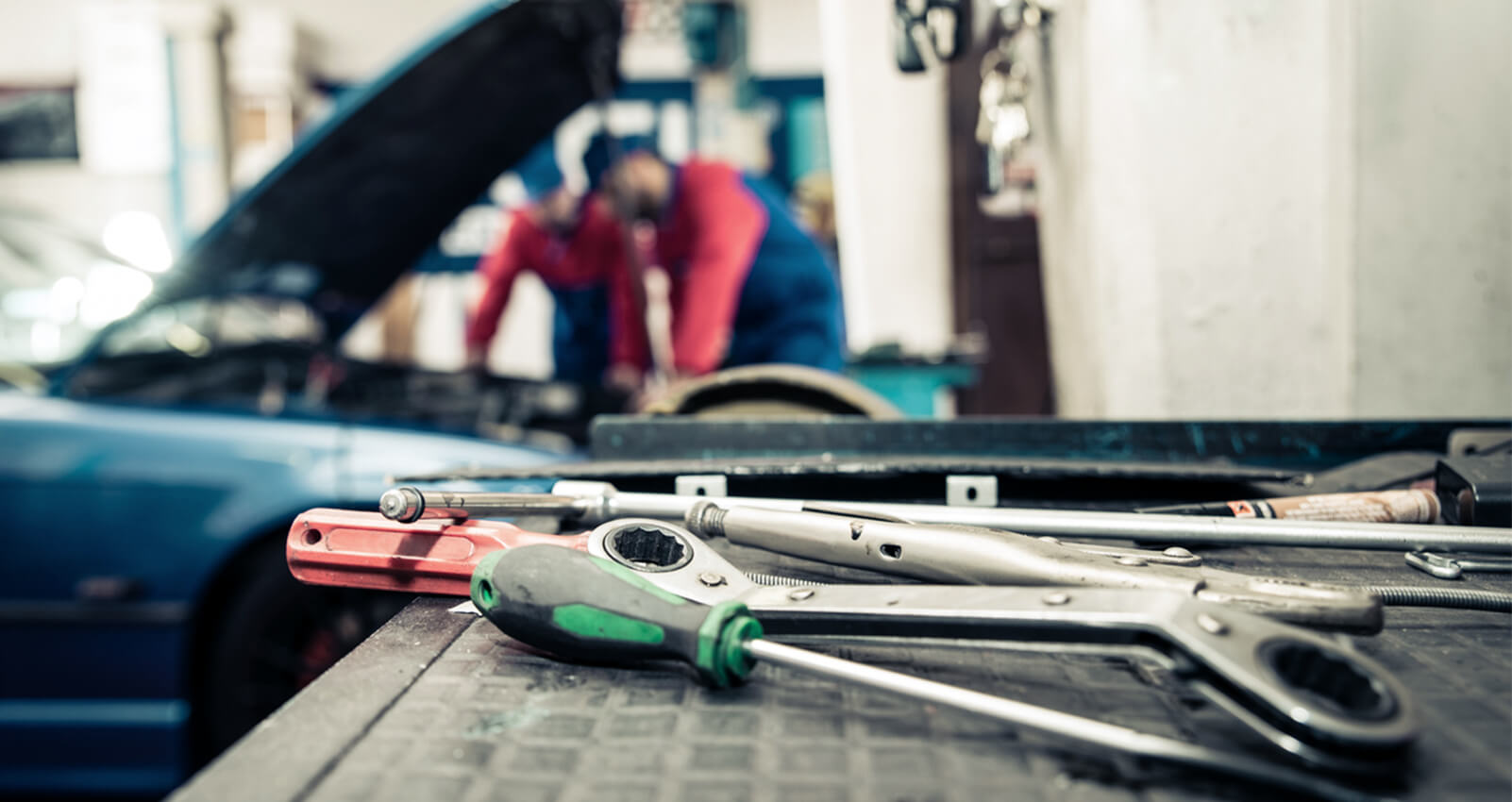 Tools to begin an automotive career