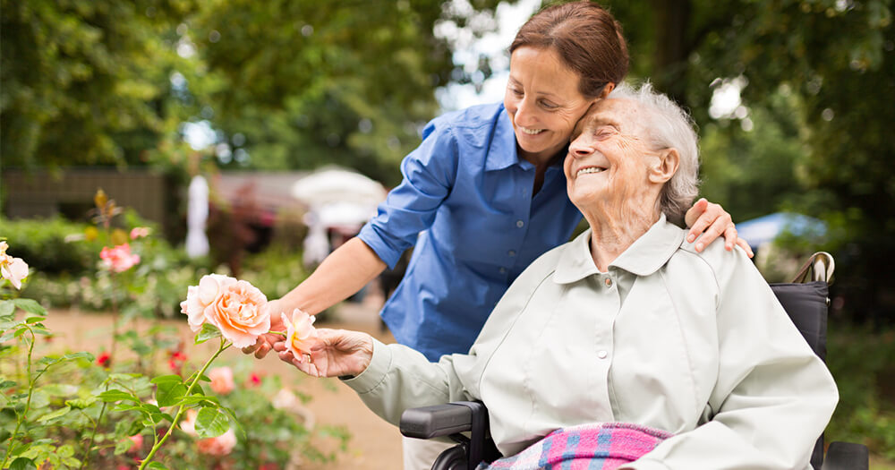 Starting a new career path and finding passion in aged care facility