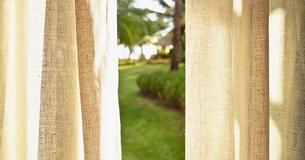 Linen curtains - how to choose curtains and drapes