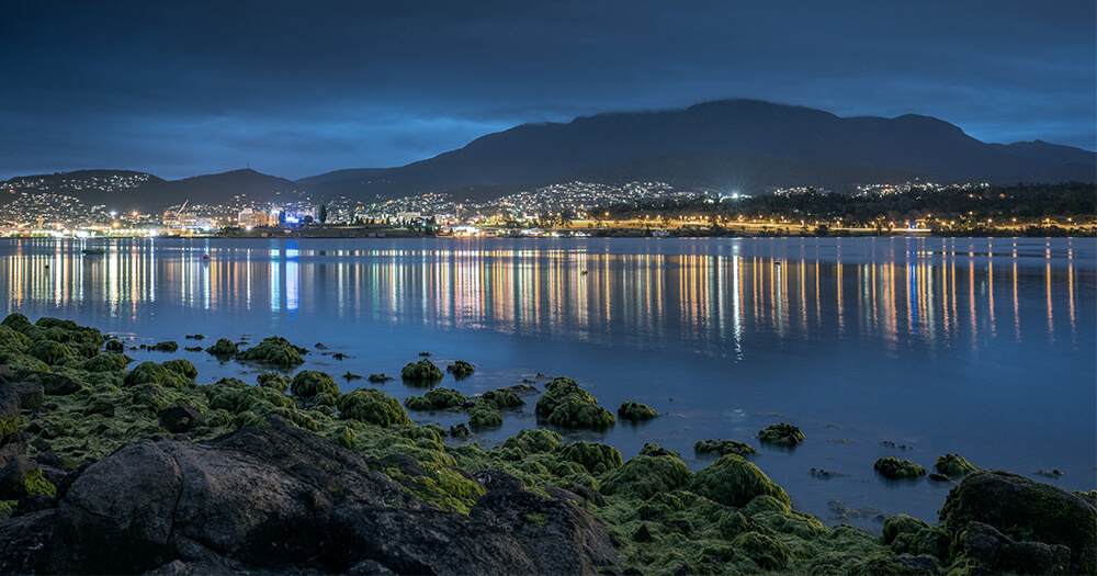 Digital nomads will love Hobart by night