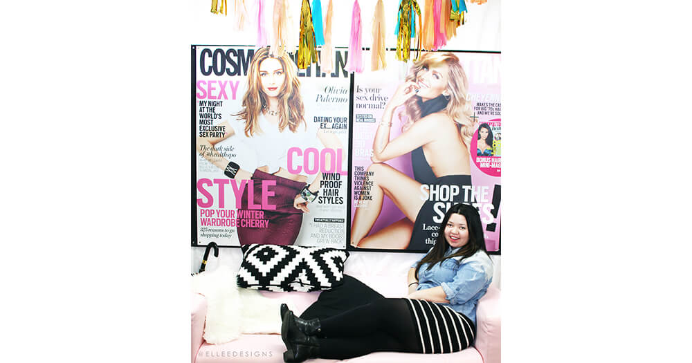 Day in the life of an intern at Cosmopolitan on the couch