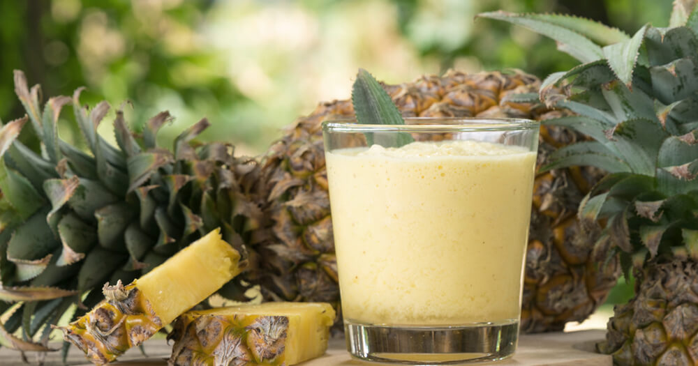 Healthy snack recipes for whipped pineapple colada