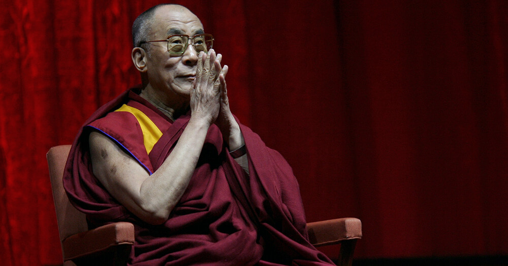 Dalai Lama explains the importance of balancing life