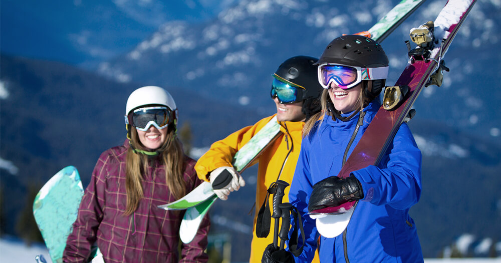 How to beat the winter blues - go on a snow trip or ski trip