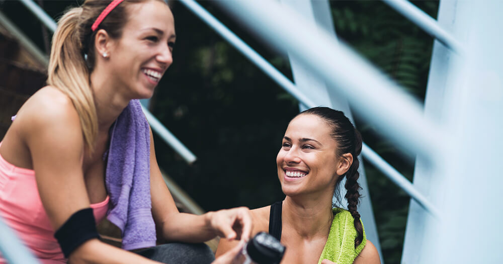 How to sell yourself and your business- fit girfriends after workout