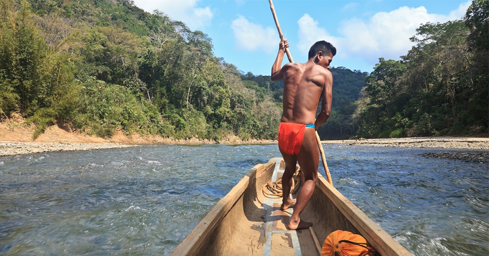 Panama - Chagre River - Boatman - locals- culture - sustainable tourism