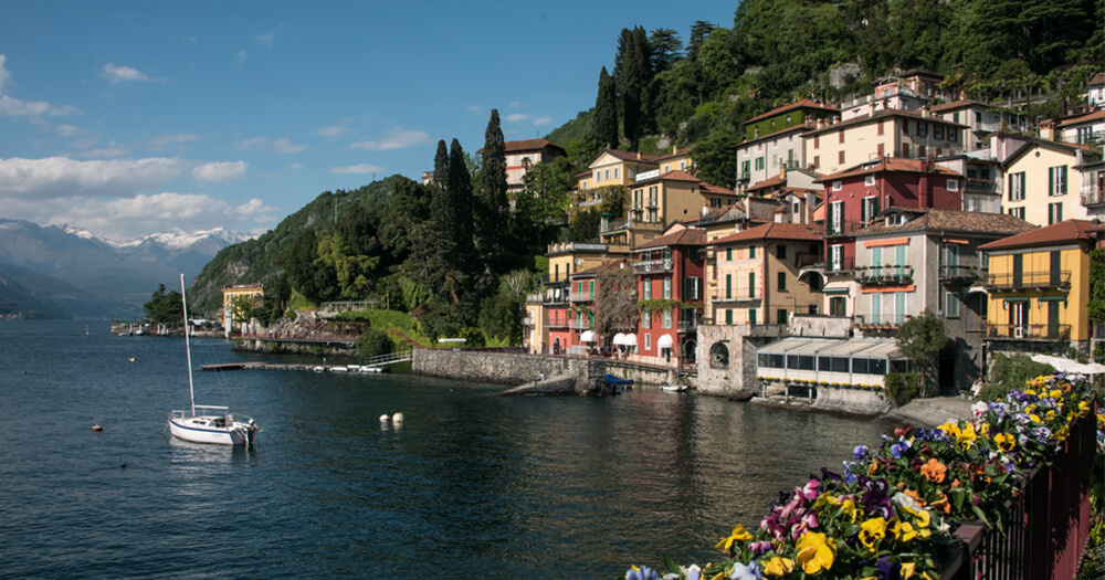 Angela's digital photography competition win - Lake Como professionally published photo