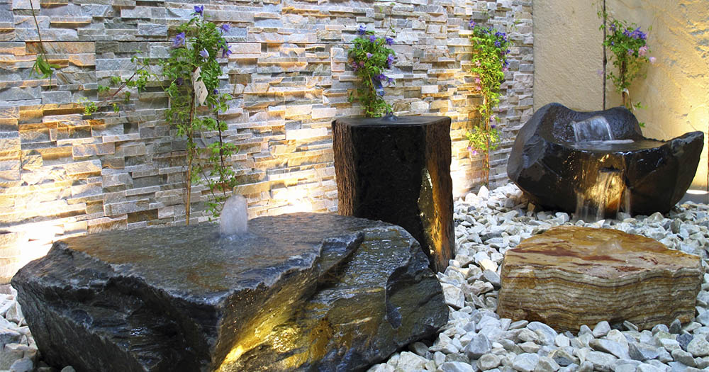 water feature office