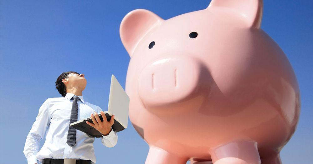 Expensive interior consultant - huge piggybank