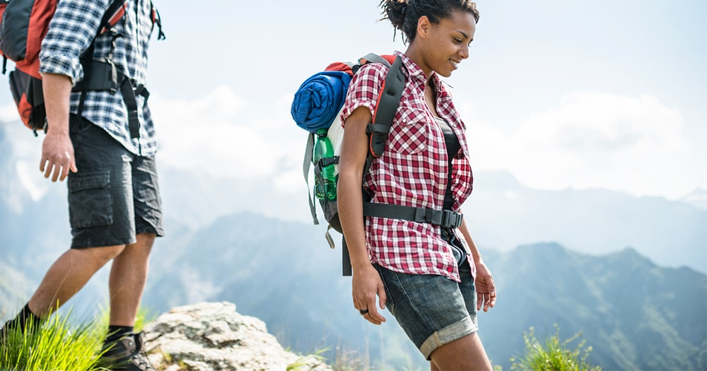 Hiking people - Health and Fitness goals
