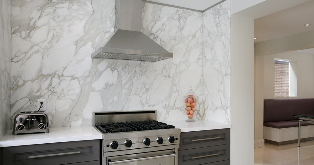 Calacutta, Statuario and New York marble