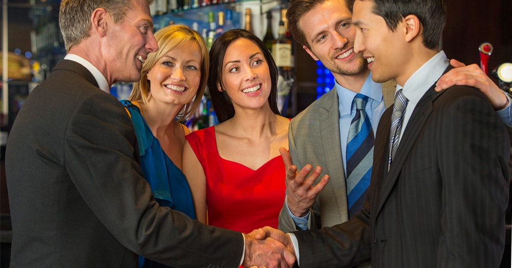 Mingling with everyone - how to get promoted quickly
