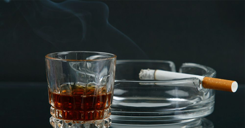 Unhealthy Lifestyle Habits Nutritional Supplements Are Not Cigarettes And Alcohol