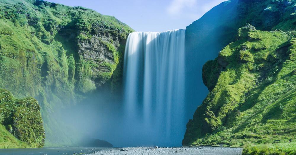 Ring Road Iceland - Skogafoss Waterfall