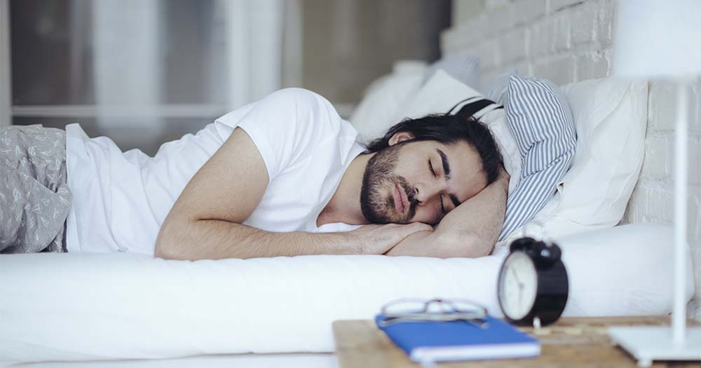HEalthy sleep habits are important to help prevent burn out