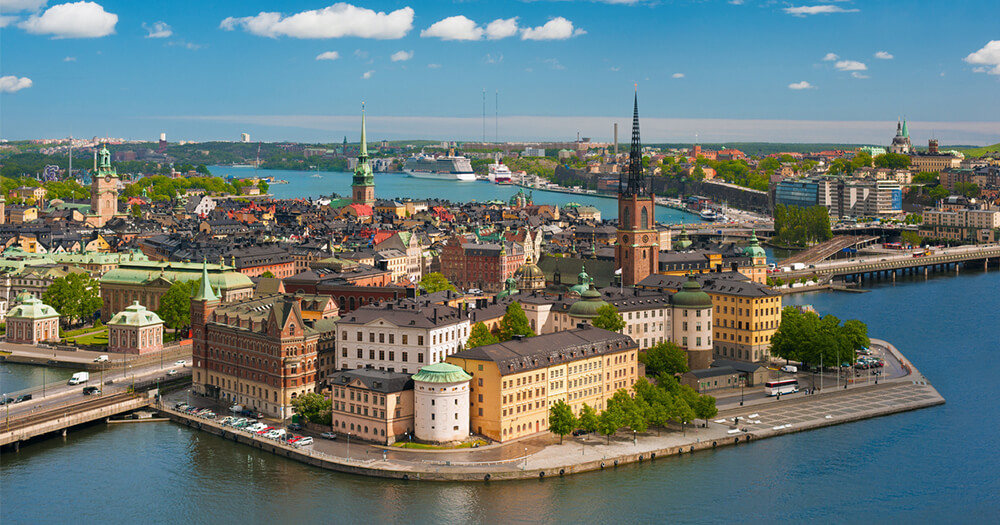 Is Gamla Stan Stockholm the safest place in the world? It's certainly a beautiful destination