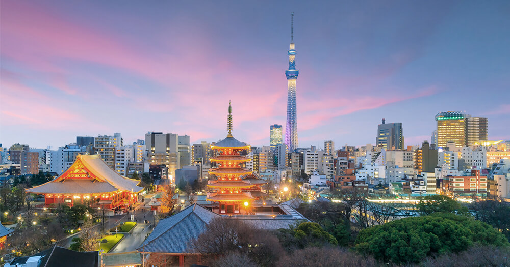 Female travel expert recommends Tokyo, Japan to travel alone