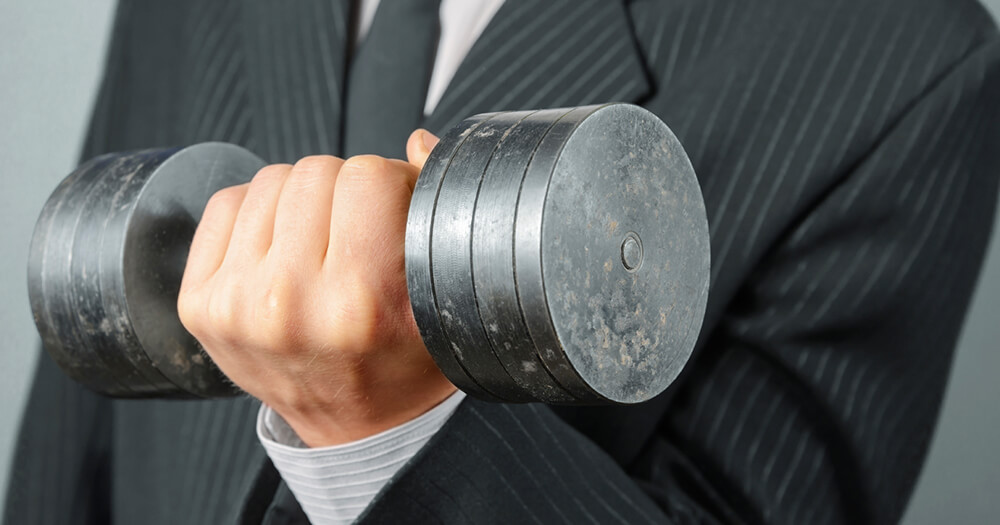 Business fitness - weight training