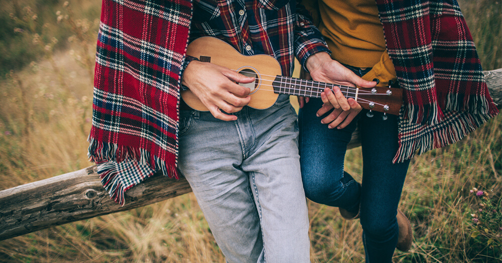 Exploring with a ukelele - adventures