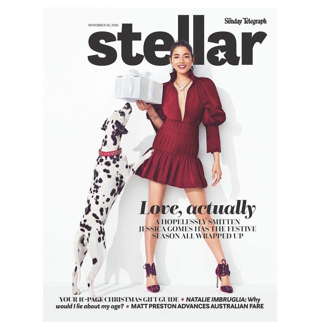 Stellar Mag cover, Jessica Gomes, November issue