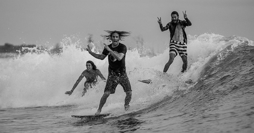 Ozzie, Dion and Craig by John Respondek