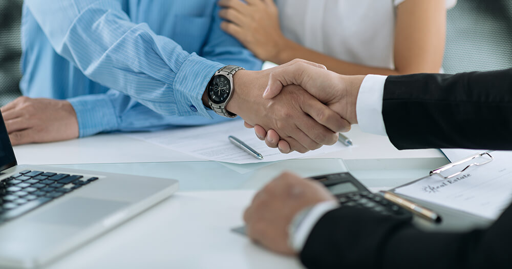 The real estate industry is about handshakes and relationships