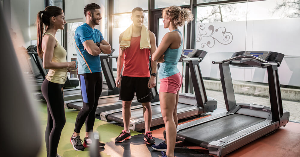 Personal trainers networking