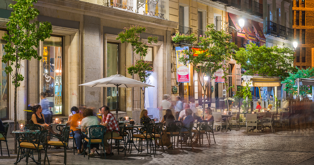 Spain, Madrid - bars and nightlife