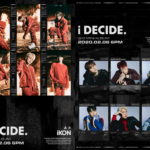 iKON drop red and black concept posters, MV teaser and highlight medley for 'I Decide' ahead of long awaited comeback!