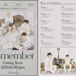 WINNER reveal concept videos, a poster and full track list for 'Remember'!