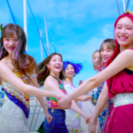 APRIL enjoy a day at the beach in 'Now or Never' MV