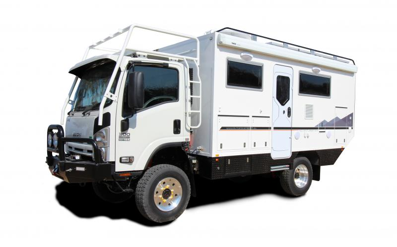 SLRV Expedition Vehicles and Luxury 4x4 Motorhomes